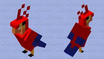 Iago Parrot Minecraft Mob Skin
