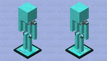 Holographic Armour Stand Minecraft Mob Skin