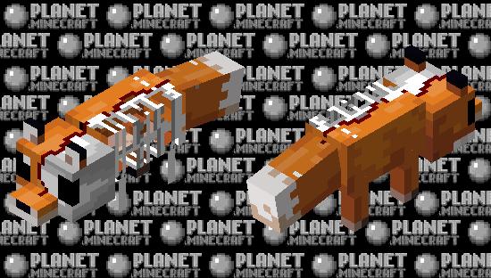 The REAL Phantom Fox Minecraft Skin