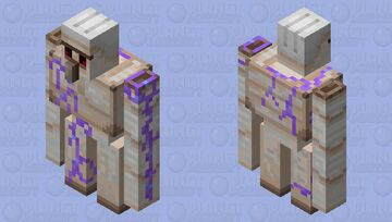 golem with enchanted vines Minecraft Mob Skin
