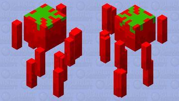 blaze tomato Minecraft Mob Skin