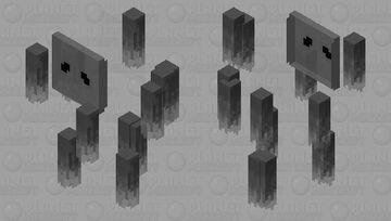 Ghooosstt, ooh spookyy Minecraft Mob Skin