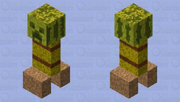 CreepCrow Minecraft Mob Skin