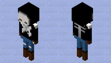 skeleton girl Minecraft Mob Skin