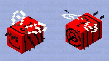 Loopy Bee Minecraft Mob Skin