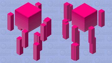 Pink Sunset Minecraft Mob Skin