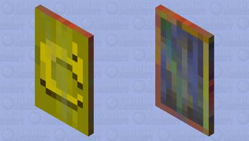 !!!Danger,this cape has blood! Minecraft Mob Skin