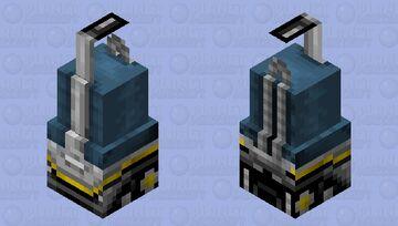 Vacuum Golem Minecraft Mob Skin