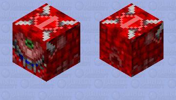 Doom - Cacodemon (Flying) (Part 1 of 2) Minecraft Mob Skin