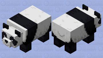 Smiling Panda Minecraft Mob Skin