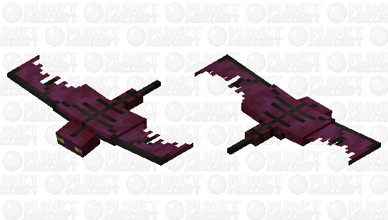 Red phantom (dark bones) Minecraft Skin