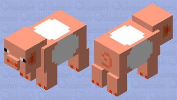 Taffy Pig Minecraft Mob Skin