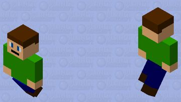 the guy who could fly Minecraft Mob Skin