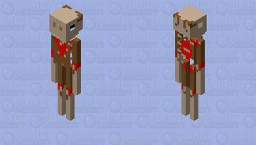 Wendigo Minecraft Mob Skin