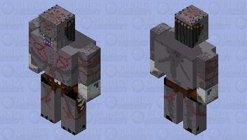 Assassin Predator (Iron Golem Mob) Minecraft Mob Skin