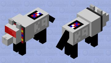 K9 - Doctor Who (My First Mob Skin) Minecraft Mob Skin