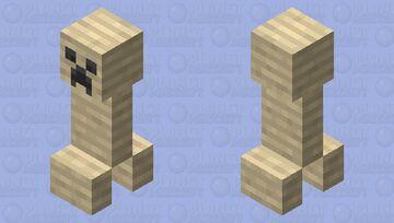 Mummified Creeper Minecraft Mob Skin