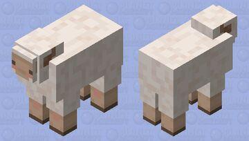 cute sheep Minecraft Mob Skin