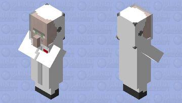 Astro Villager Minecraft Mob Skin