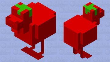 chicken tomato Minecraft Mob Skin