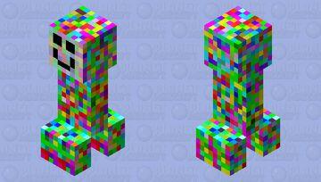 Weirdo Creeper Minecraft Mob Skin