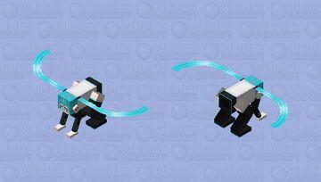 HATSUNE MIKU DRAGON Minecraft Mob Skin