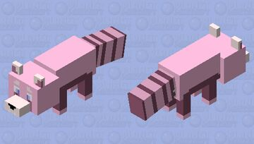 Pinkie Hearts, but as a mob! Minecraft Mob Skin