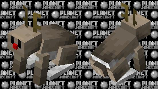 reindeer bunny Minecraft Skin
