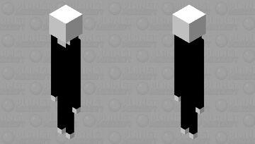 slender man Minecraft Mob Skin