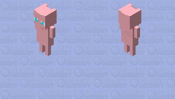 Mew (Enderman) Minecraft Mob Skin