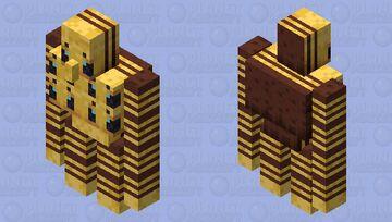 Bee golem Minecraft Mob Skin