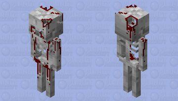 Death Skeleton Minecraft Mob Skin