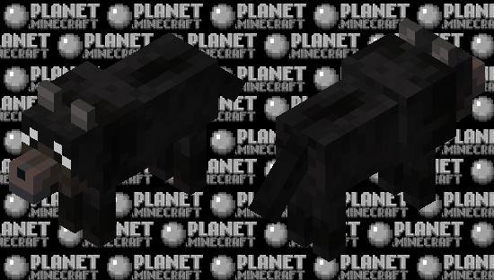 Black Dog Minecraft Skin