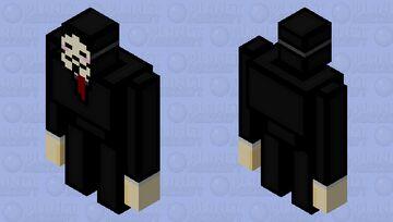 Hacker Minecraft Mob Skin