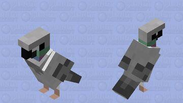 Rock Pigeon Minecraft Mob Skin