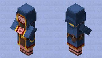 Wandering trader pig Minecraft Mob Skin