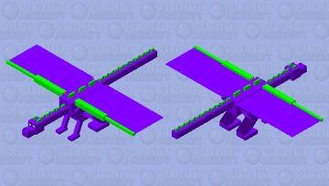 Spike the dragon Minecraft Mob Skin
