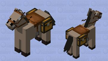 Family Guy Special Horse Minecraft Mob Skin