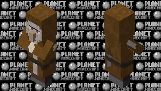 Eskimo Villager Minecraft Skin