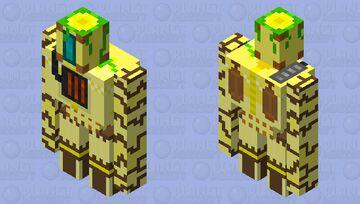 The Acient golem Terman Minecraft Mob Skin