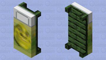 Shrek Bed Minecraft Mob Skin