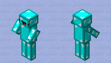 cursed skeppy villagers Minecraft Mob Skin