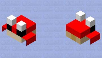 ocean crab Minecraft Mob Skin
