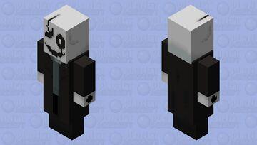 W D Gaster (Undertale Fan Boss Battle) Evoker -- Read Description Below Minecraft Mob Skin