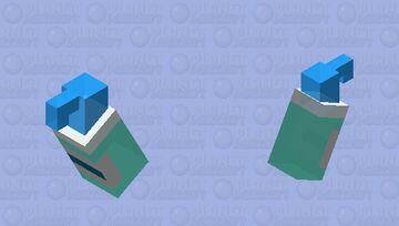 Hand Sanitizer Minecraft Mob Skin