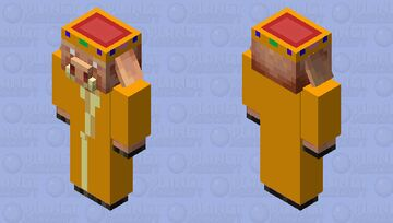 King of the Piglins Minecraft Mob Skin
