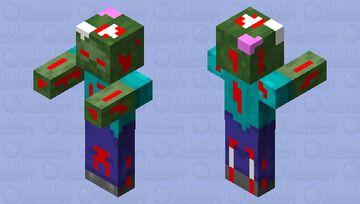 DEMON ZOMBIE Minecraft Mob Skin