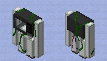 Scentient Microwave (HD Version) Minecraft Mob Skin