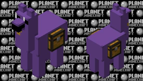 Purple Guy Llama Minecraft Skin
