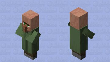 Just Your Average Villager / Witch: (Making Minecraft A Little Harder) -- Covert Operations Series Minecraft Mob Skin
